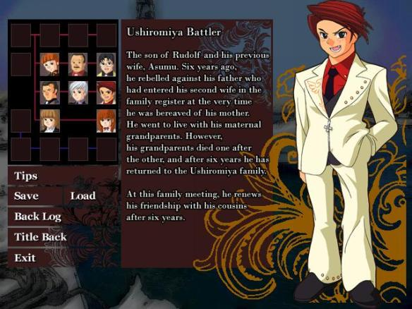 character info window