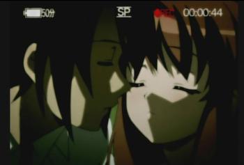 Itsuki's fabulousness isn't stopping him from kissing Mikuru