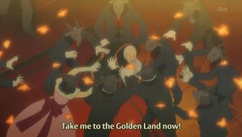 Kinzo being mass raped