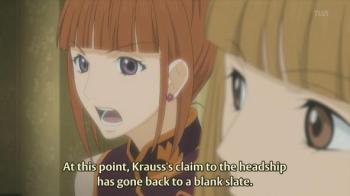Krauss is in trouble
