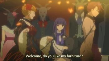 So that's what furniture means in this show