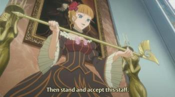 Everyone knows that you cannot be real Witch without a Magical Staff