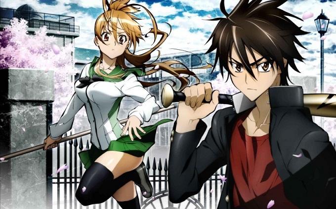 Highschool of the dead anime freak