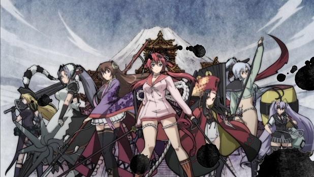 Hyakka Ryôran Samurai Girls VOSTFR