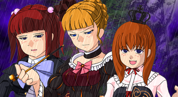37 Umineko Twilight Ange Beatrice Maria reunion うみねこのなく頃に