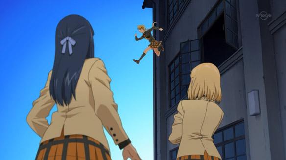 Hyakko Torako jumping