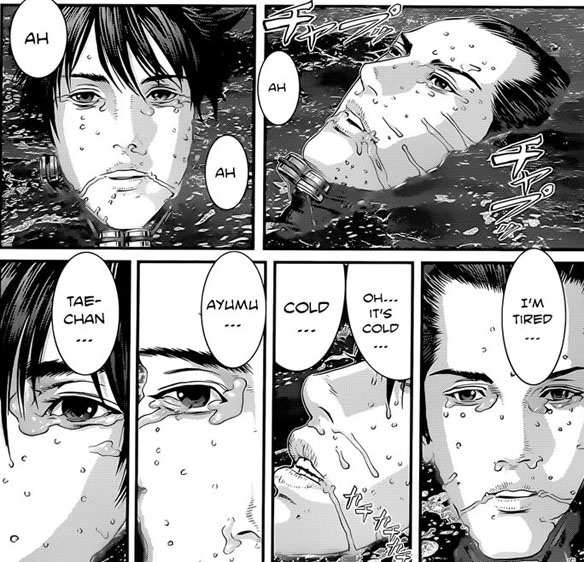 Gantz final chapter final scenes
