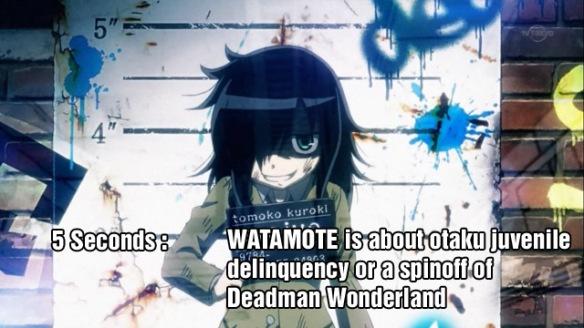 WATAMOTE Watashi ga Motenai no wa Dou Kangaetemo Omaera ga Warui!